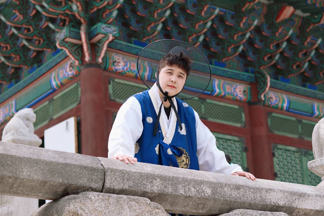 Diary of Jang Jihoo - Hanbok Photoshoot